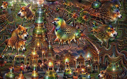 Machine Learning Examples - Deep Dream