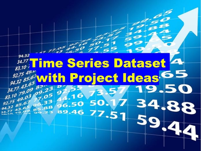 Time Series Data Set with Project Ideas