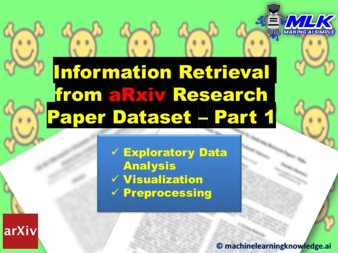 Information Retrieval from Arxiv Research Paper Dataset