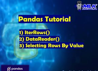 Selecting Rows by Value, Iterrows and DataReader