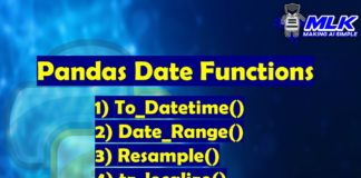 Pandas Date Time Functions – to_datetime(), date_range(), resample() and tz_localize()