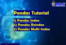 Pandas Tutorial - Index , Reindex and Multi-index