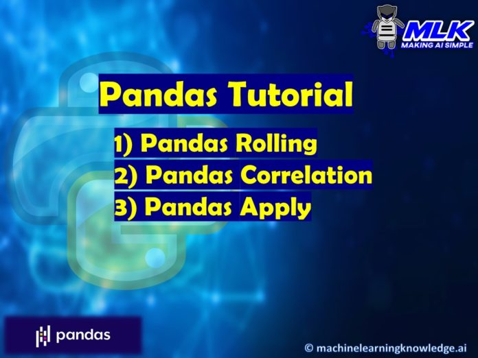 Pandas Tutorial - Rolling, Correlation and Apply