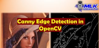 Canny Edge Detection with OpenCV canny()