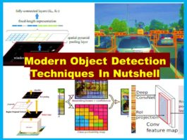 Different Types of Object Detection Algorithms in Nuthsell