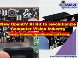 OpenCV AI Kit - OAK-1 and OAK-D (Details, Features, Specification, Price, Delivery Date)