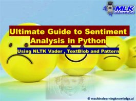Sentiment Analysis in Python with NLTK Vader, TextBlob and Pattern
