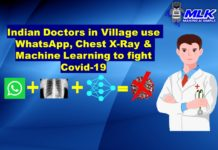 WhatsApp , Chest X-Ray and Machine Learning helping Doctors in Indian Villages fight COVID-19