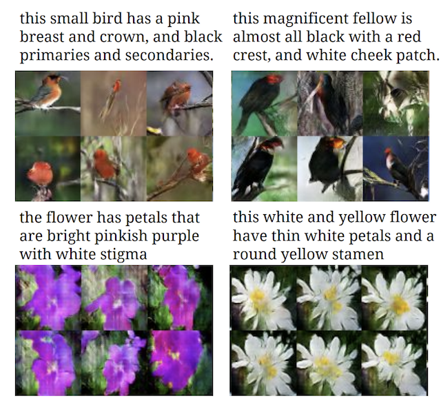 Application of GANs Text-to-Image_Example