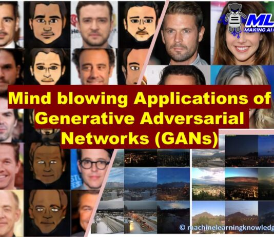 Applications of Generative Adversarial Networks