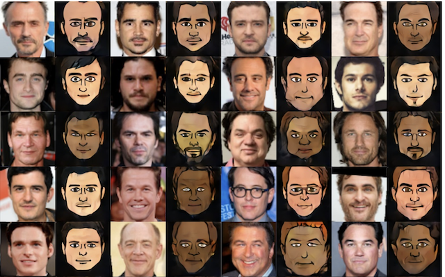 Applications of Generative Adversarial Networks - Photos to Emoji