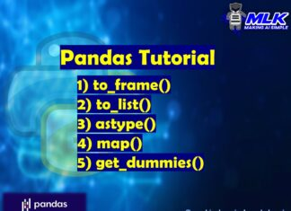 Pandas Tutorial - to_frame(), to_list(), astype(), get_dummies() and map()