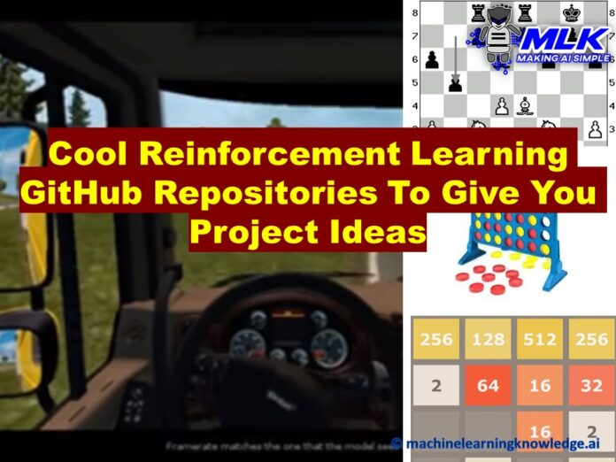 Reinforcement Learning GitHub Repositories Project Ideas
