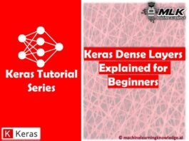 Keras Dense Layer Explained for Beginners
