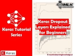 Keras Dropout Layer Explained for Beginners