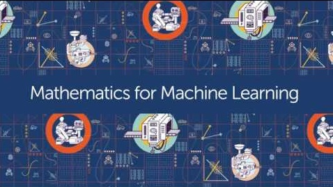 Best Coursera courses for Data Science - Mathematics for Machine Learning Imperial London College