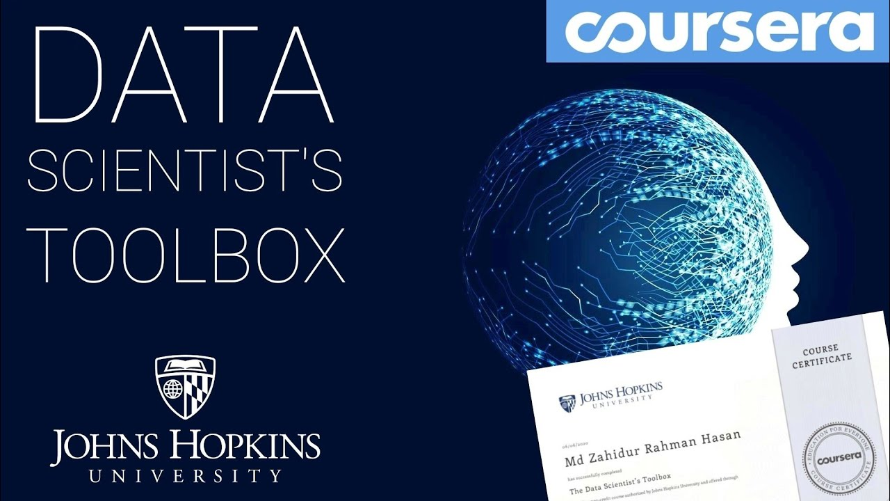 Best Coursera courses for Machine Learning - Data Science Specialization by Johns Hopkins University