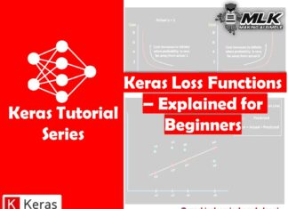 Types of Keras Loss Functions Explained for Beginners