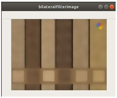 Bilateral Filtering in Python OpenCV Example - 2