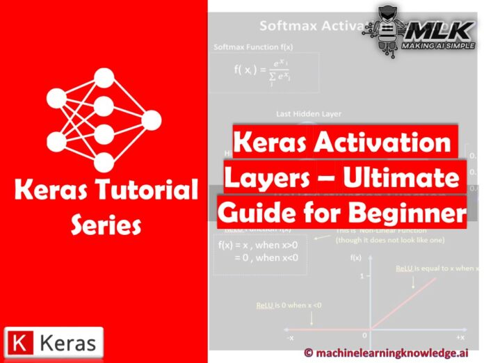Keras Activation Layers - Ultimate Guide for Beginner