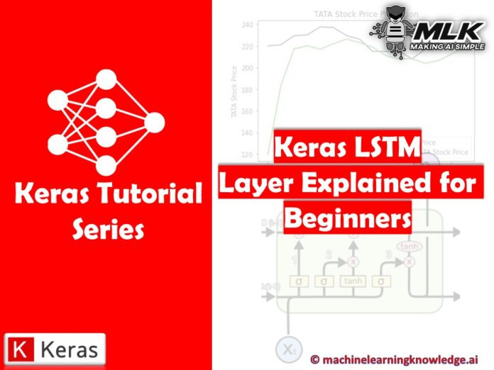Keras LSTM Layer Explained for Beginners with Example