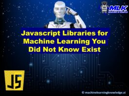 Javascript Libraries for Machine Learning, Deep Learning, NLP and Computer Vision - You Did Not Know Exist