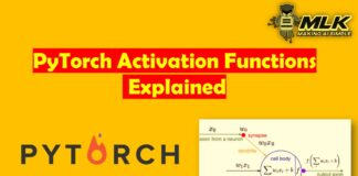 PyTorch Activation Functions - ReLU, Leaky ReLU, Sigmoid, Tanh and Softmax