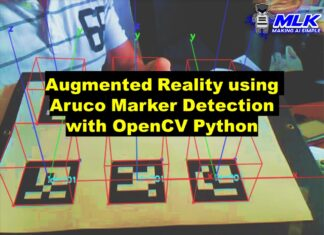 Augmented Reality using Aruco Marker Detection with Python OpenCV