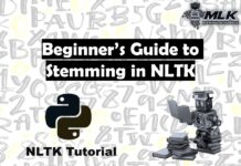 Beginner's Guide to Stemming in Python NLTK
