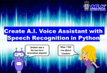 Create AI Voice Assistant with Speech Recognition Python Project [Source Code]