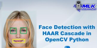 Face Detection with HAAR Cascade in OpenCV Python