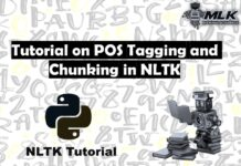 Tutorial on POS Tagging and Chunking in NLTK Python