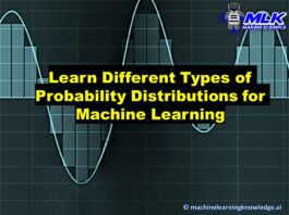 Types of Probability Distributions for Machine Learning and Data Science with Python Code