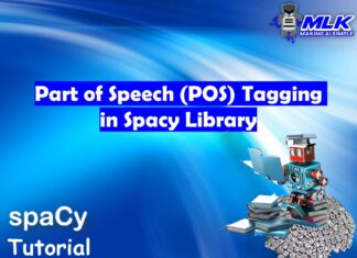 Tutorial on Spacy Part of Speech or POS Tagging