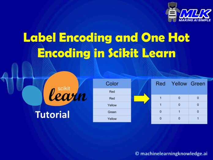 Categorical Data Encoding with Sklearn OneHotEncoder and LabelEncoder