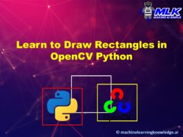 Learn to Draw Rectangle in OpenCV with cv2.rectangle() with Examples