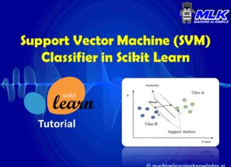 Python Sklearn Support Vector Machine (SVM) Tutorial with Example