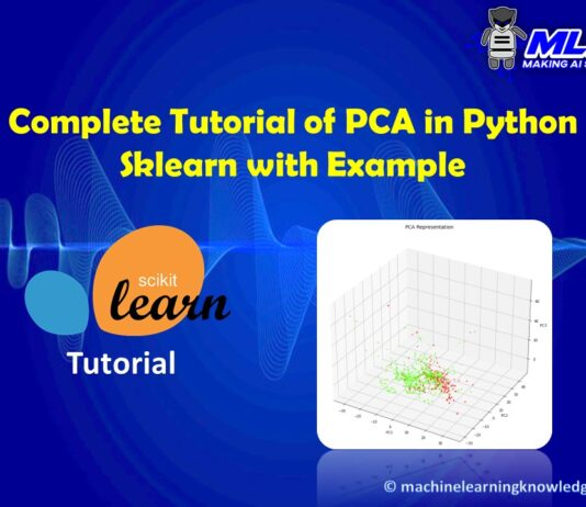 Complete Tutorial of PCA in Python Sklearn with Example