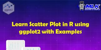 Learn Scatter Plot in R using ggplot2 with Examples