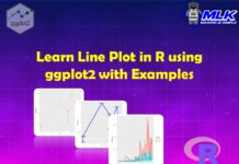 Tutorial for Line Plot in R using ggplot2 with Examples